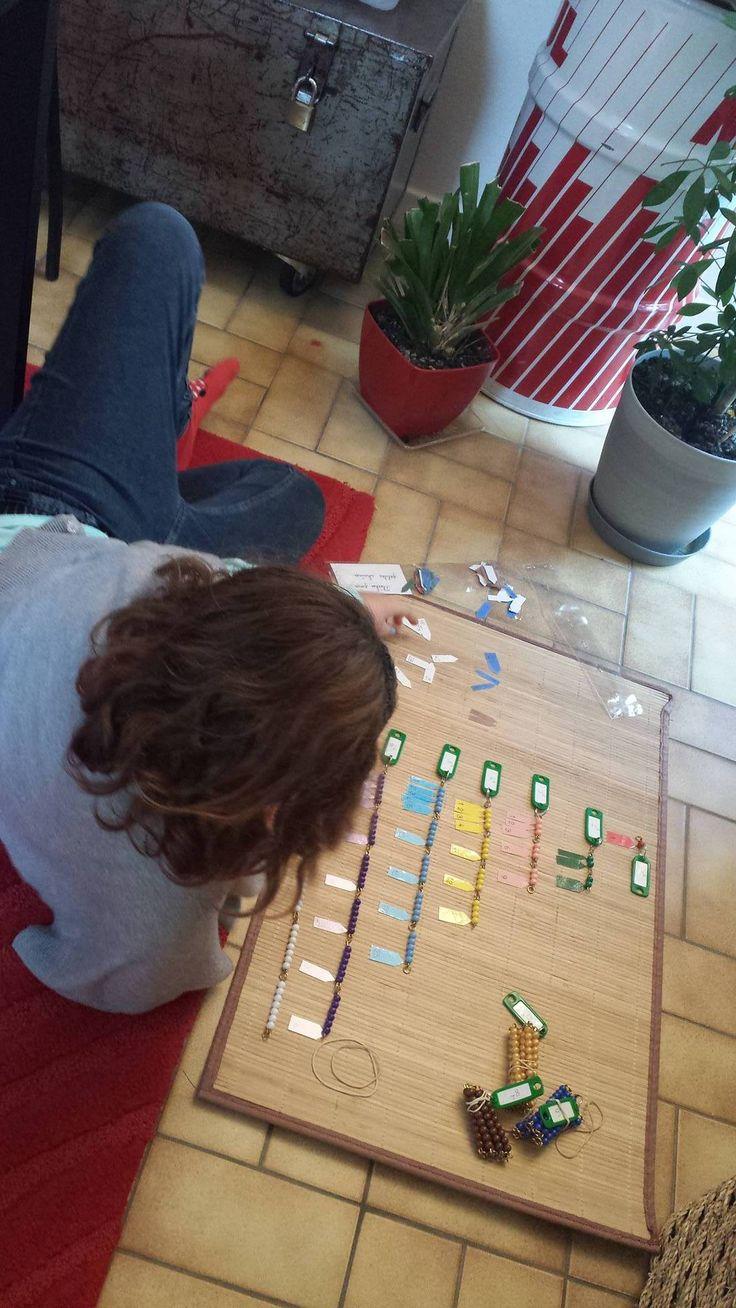 De la table sensorielle au sens de la multiplication ...
