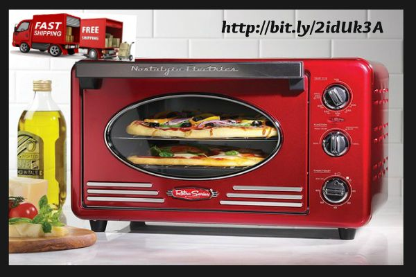 Nostalgia Electrics Retro Series Vintage Toaster Oven Kitchen Equipment  The Nostalgia Electrics Retro Series Vintage Toaster Oven Kitchen Equipment is a slick 1500-watt ledge broiler equipped for heating, convection preparing, toasting and coo...