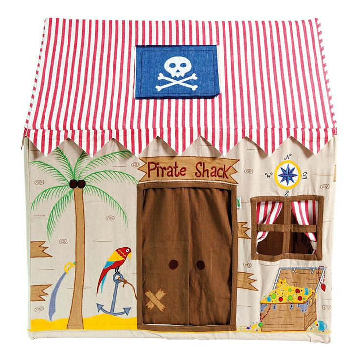 PIRATE SHACK Play House by Win Green. Raise the anchor and ready the men. The New Pirate Shack Playhouse by Win Green. A fabulous kids bedroom accessory.  sc 1 st  Pinterest & 27 best Kids - tent u0026 house images on Pinterest | Child room ...