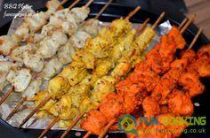 Chicken BBQ Platter (Tikka boti,Malai boti,Tandori boti)