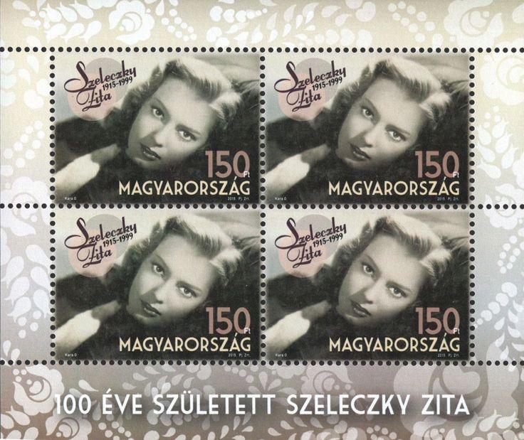 #4347 Hungary - Zita Szeleczky M/S (MNH)