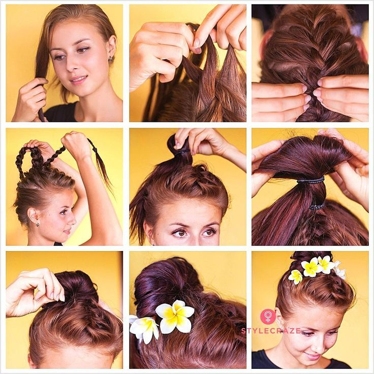 Every girl would like to be lovely at prom nights. No look is complete without a perfect hairstyle. #promhair
