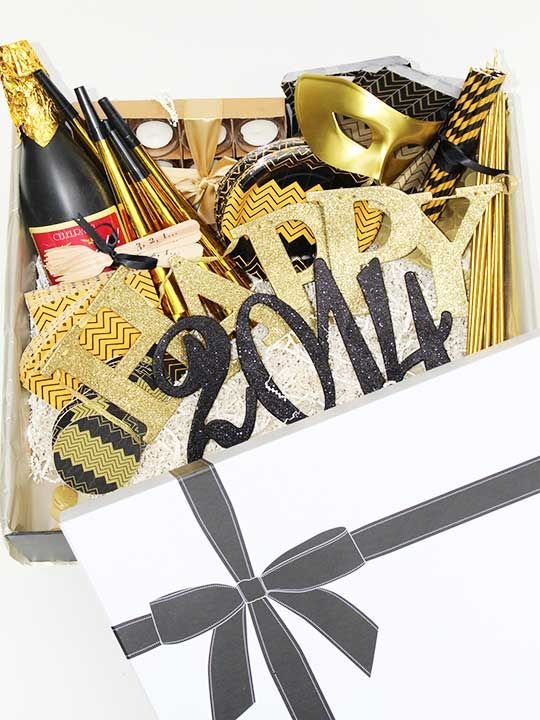 New Year's Eve Party Collection! Everything you need for the best NYE party in one box from @RevelryHouse!