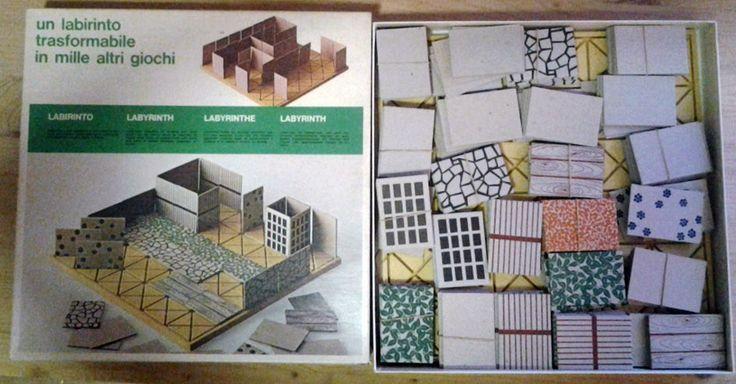 Bruno Munari Labirinto Scatola Danese 1973 | eBay