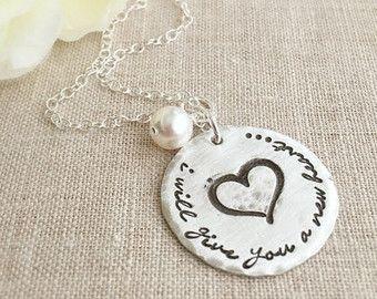 Personalized Jewelry . Blessed Wife & Mom . by ShayDesignsJewelry