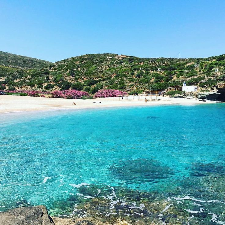 Outstanding Vitali beach in Andros island (Άνδρο