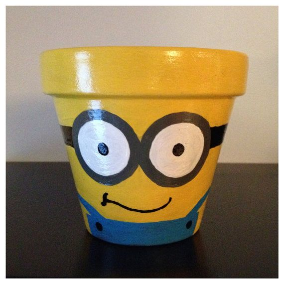 sandylandya@outlook.es  Despicable Me Minion Planting Pot