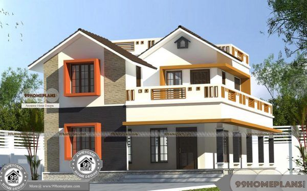 Good House Designs In Kerala Double Floor Simple Cute Home
