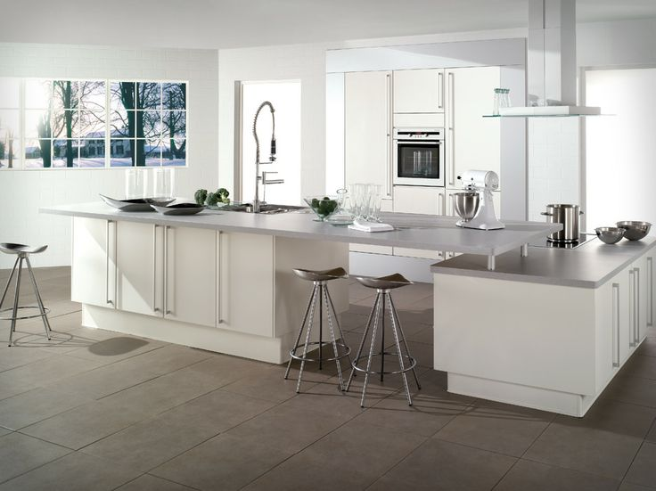 Modern Kitchen Ideas 2014 Light And White