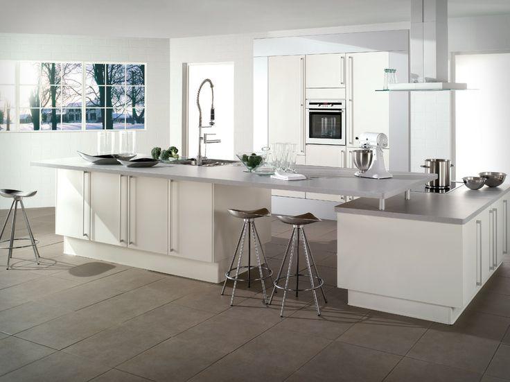 Modern Kitchen ideas 2014 Light and White