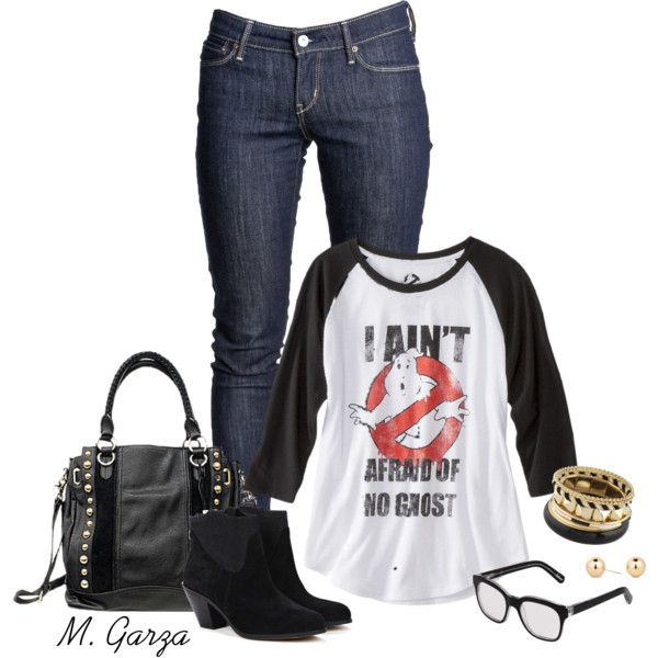 """""""Ghostbusters Outfit"""" by maria-garza on Polyvore"""