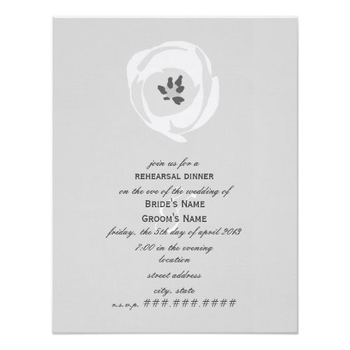 741 best formal wedding invitations images on pinterest convites formal dinner rehearsal dinner invitations white tulip rehearsal dinner invitation stopboris Gallery
