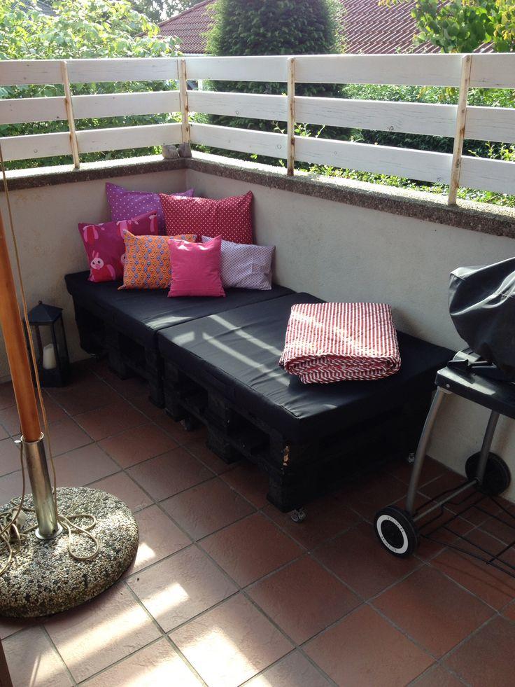 Hyggekrog på terrassen