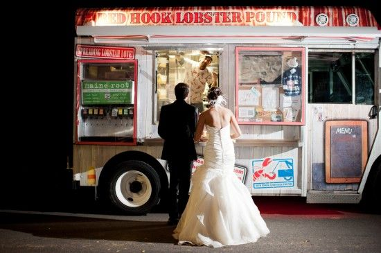 How To Plan A Food Truck Wedding : Whether for a fun spin on a late-night bite or in place of a traditional catered meal, you may need to consider a few helpful tips for having food trucks at your wedding.