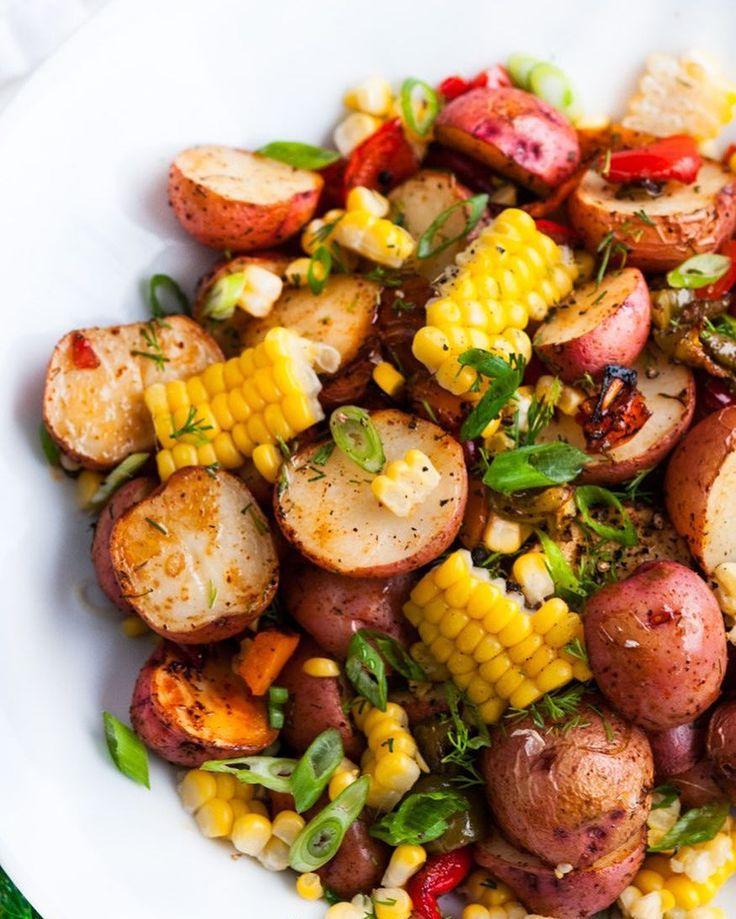 "12.5k Likes, 36 Comments - Healthy Recipes (@healthyminutemeals) on Instagram: ""SOUTHWEST ROASTED POTATO SALAD By @aberdeenskitchen  @aberdeenskitchen . Something tasy, something…"""