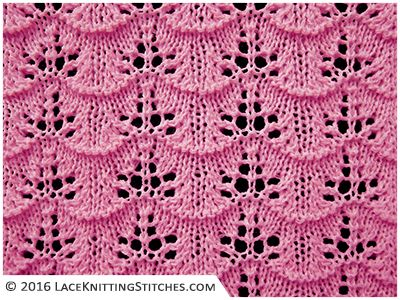 Best 25+ Lace knitting stitches ideas on Pinterest Lace knitting patterns, ...