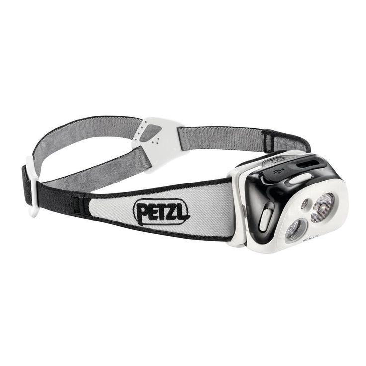 Reactik från Petzl är en kompakt, laddningsbar pannlampa utrustad med Petzls REACTIVE LIGHTING-teknologi. Ljusflödet anpassar sig direkt till omgivningen och är optimerat för att garantera den valda brinntiden. Den mångsidiga ljusstrålen anpassar sig lätt från närljus till att ge ljus på långt håll.