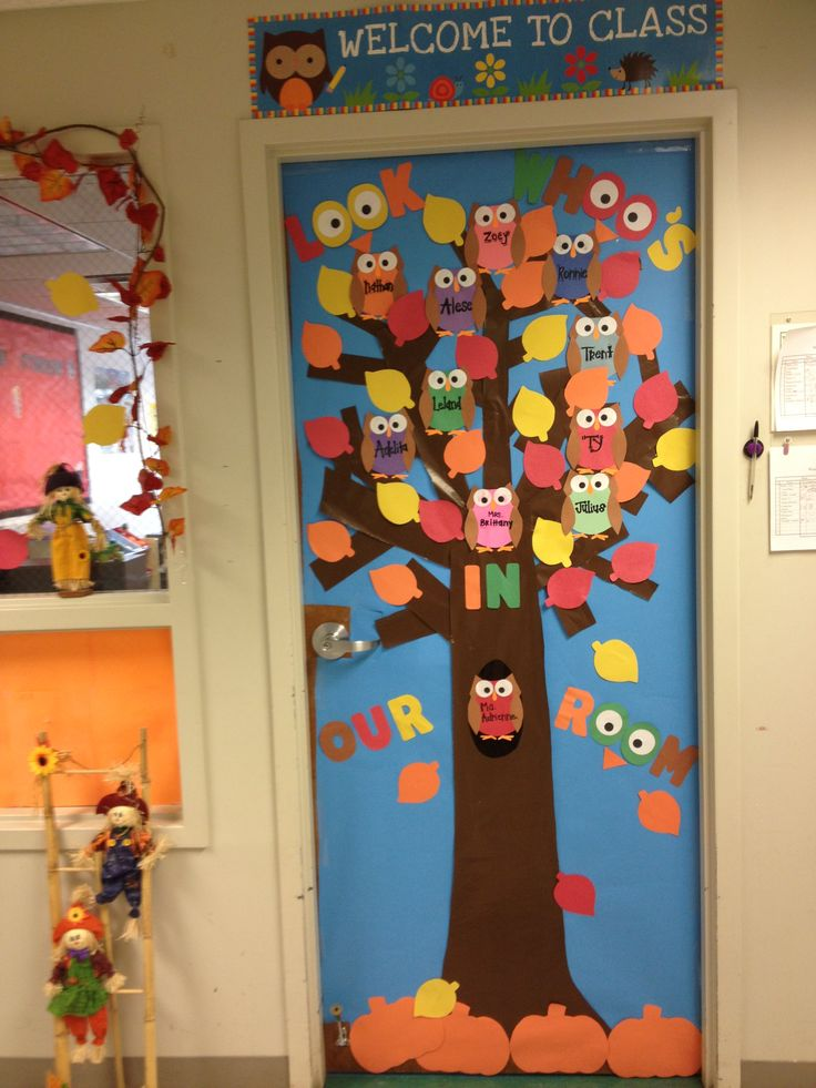 Fall door & 15 best Student Teaching Creations!! images on Pinterest | Student ...