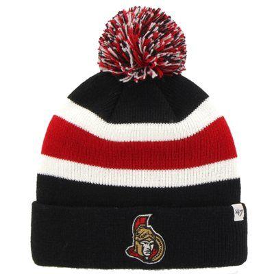 Men's Ottawa Senators '47 Brand Black Breakaway Knit Hat