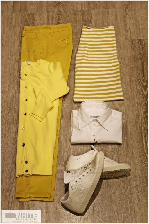 Ci sono pittori che dipingono il sole come una macchia gialla, ma ce ne sono altri che, grazie alla loro arte e intelligenza, trasformano una macchia gialla nel sole. (Pablo Picasso) #outfit #modadonna #nuovacollezione2015 #giallo #primaveraestate
