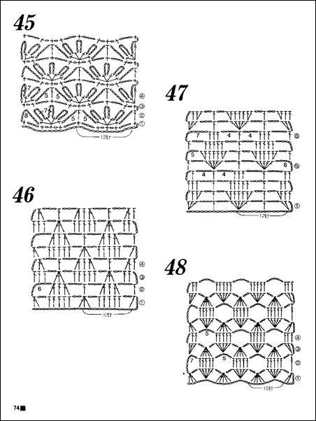 132 best crochet diagrams images on pinterest