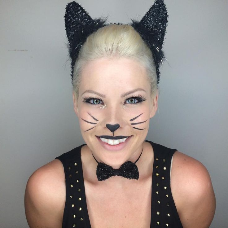 1000+ Ideas About Kitty Cat Makeup On Pinterest | Cat Makeup Halloween Costumes For Work And ...