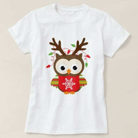 Christmas Owl T-Shirt - click to get yours right now!