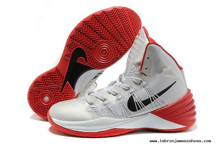 Cheap Nike Hyperdunk 2013 White Red Black For Sale