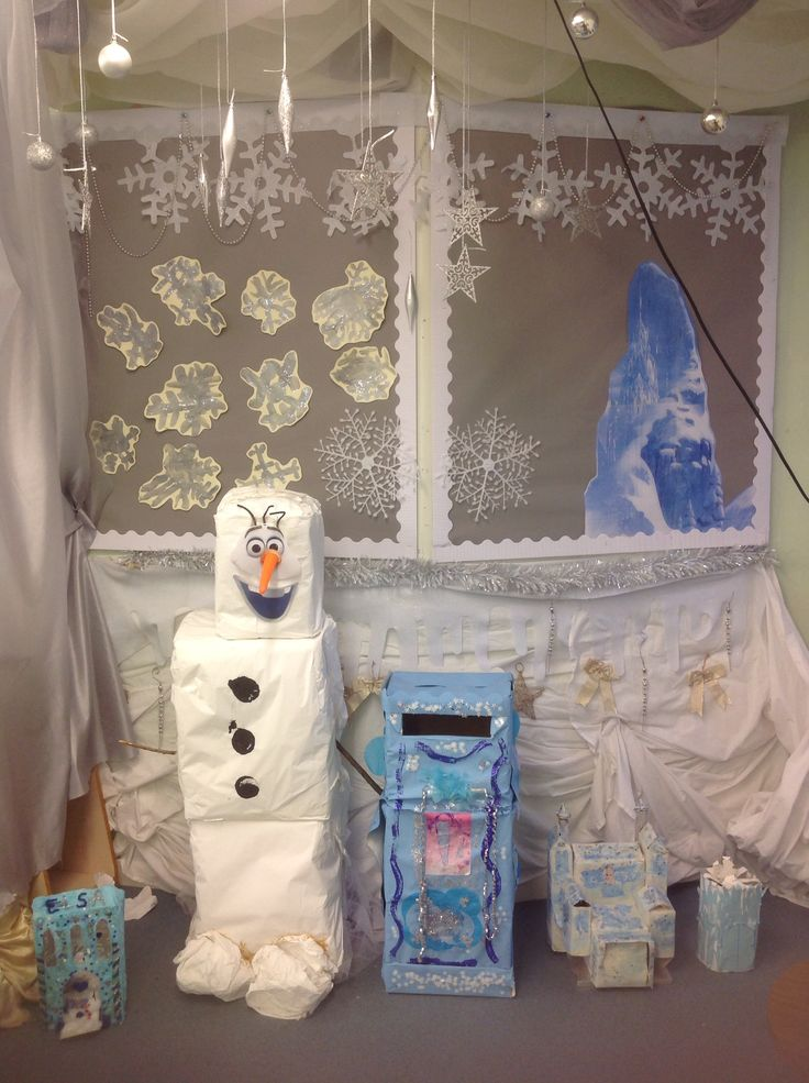 This Is Our Frozen Role Play Area The Ice Palaces Were
