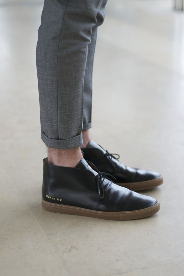 Common Projects Black Varnished