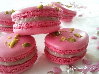 C'est ma fournée !: Macarons framboises
