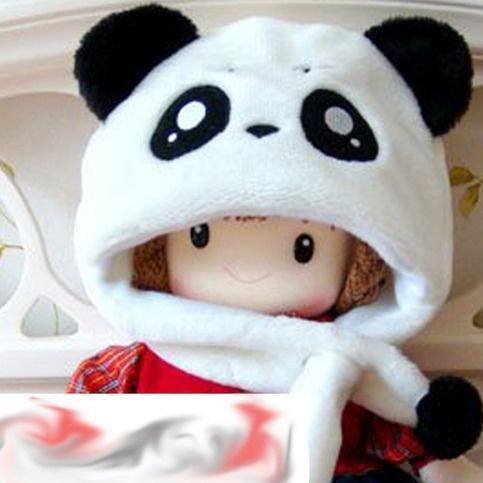 que bonito quiero un gorro panda ^^