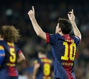 December 9, 2012 Lionel Messi wrote his name into the history books as he scored his 85th and 86th goals in 2012 to break Gerd Muller's record of most goals in a calendar year.