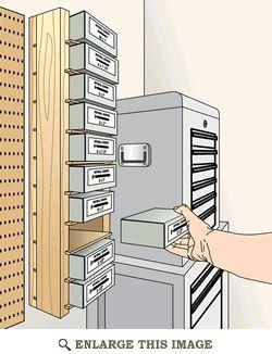 Simple Screw-Box Shelves Woodworking Plan
