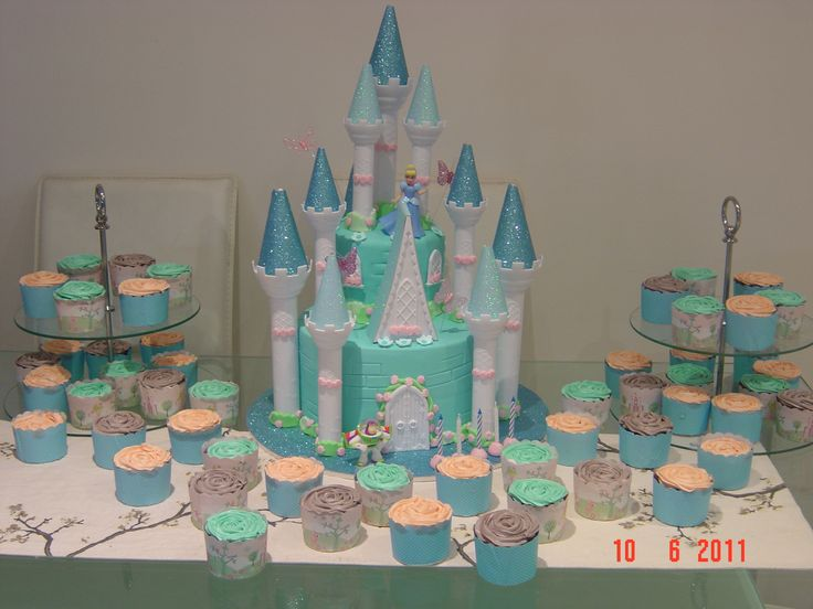 Cinderella Baby Shower Cake | Cinderellas Castle