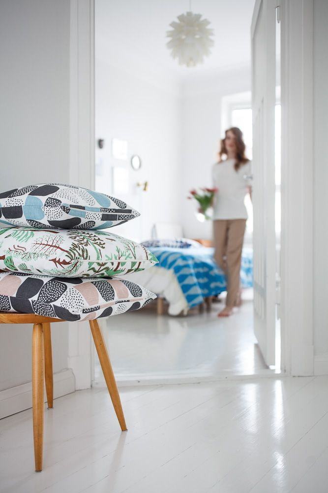 New from Kauniste: Interior Design, Kauniste Finland, Cushion Covers, Interiors, Sokeri Cushions, Kauniste Sokeri, Products, Covers Kauniste, Azrah Cushions