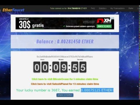 TOP Best Etherium faucet Get u first Etherium ! ETH to Bitcoin