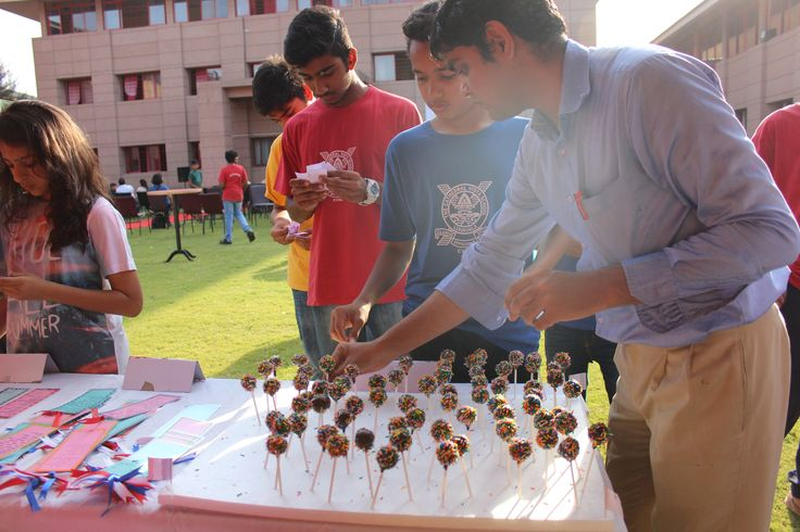 Homemade Eggless birthday Cake Pops for a Carnival at Cathedral Vidya School, Lonavala