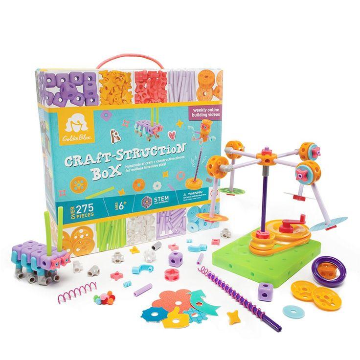 Goldieblox craftstruction box toys games