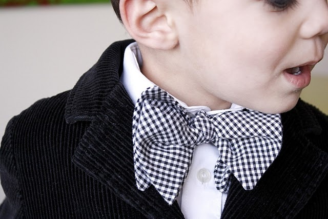 bow tie tutorial for little boys