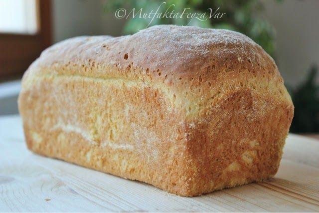 mutfakta Feyza var: Sütlü Kahvaltı Ekmeği (English Muffin Bread)