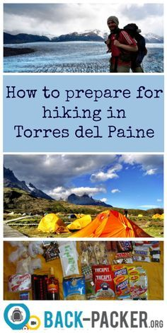 Here you'll find all info needed on how to prepare for hiking in Torres del Paine in Patagonia, Chile. Even the Lonely Planet considers the trails here as some of the worlds best trekking routes.