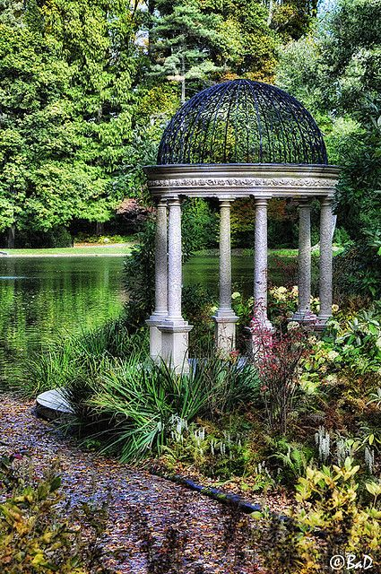 191 best images about gazebos on pinterest gardens for Landscaping longwood