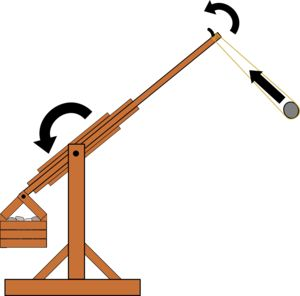 how to draw a trabuchet