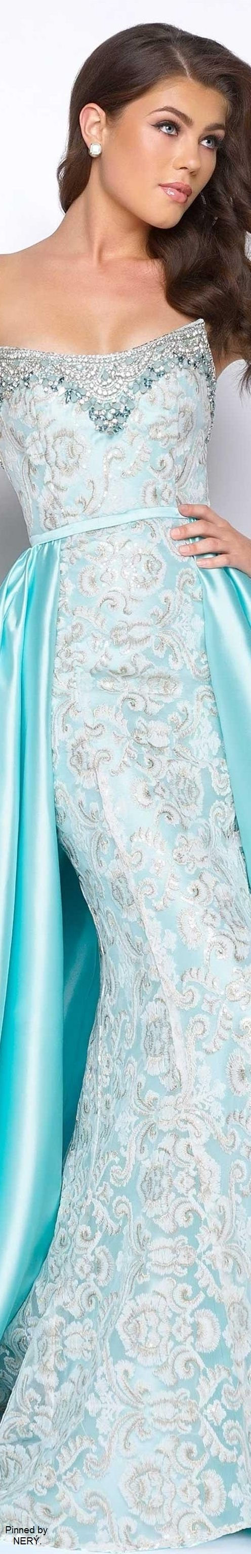 Mac Duggal Prom Dress 2017-Aqua