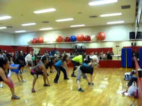 Shawty Got Moves--I love, love, love this song in Zumba. It's a fairly simple routine, and it's lots of fun.