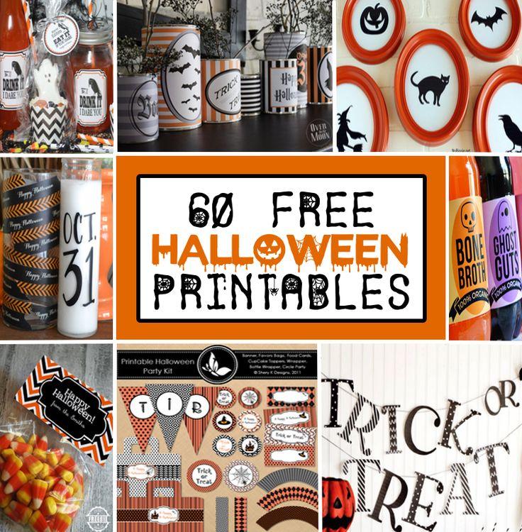 593 best Halloween Decor & Recipes images on Pinterest | Halloween ...