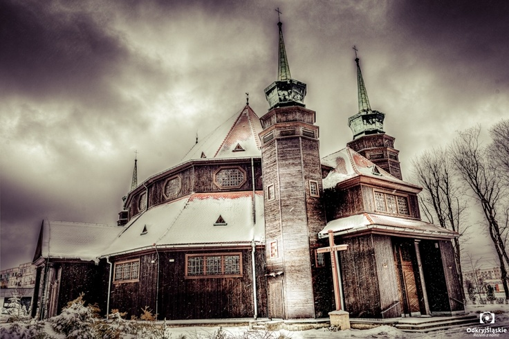#Zabrze, Church Św. Jadwiga #śląsk #silesia