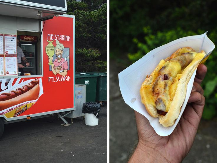 A hot dog from Meistarinn Pylsuvgn in Stykkishólmer in Iceland | heneedsfood.com
