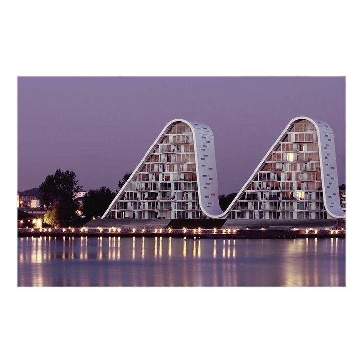 The Wave in Vejle // Henning Larsen // Denmark  #Architecture #Exteriors #interiordesign #home #beautiful #decor